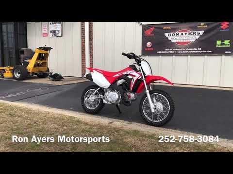 2020 Honda CRF110F in Greenville, North Carolina - Video 1