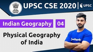 10:00 AM - UPSC CSE 2020 | Indian Geography by Sumit Sir | Physical Geography of India