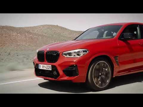 Nouvelle BMW X4 M.