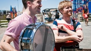 """Behind the Scenes at Jukebox the Ghost's """"Somebody"""" Video Shoot With Jesse"""