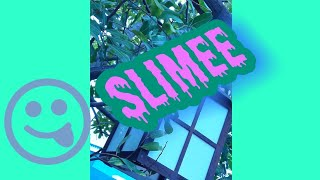 MAKING FLUFFY SLIME WITH BLACK GLITTER (MY FIRST VIDEO AHHH)