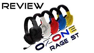OZONE Rage ST Gaming Headset Review/Feedback  German