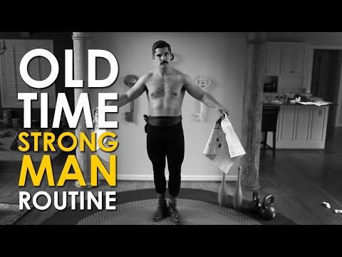 Energize Your Mornings With This Vintage Strongman Routine