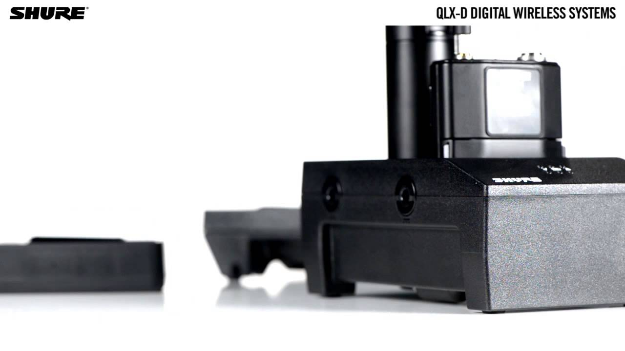 QLX-D Digital Wireless Systems: Rechargeability