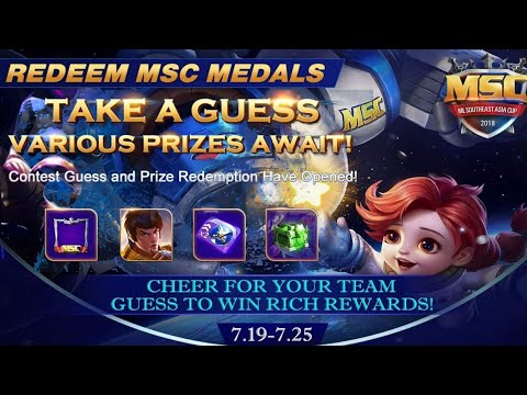 Mobile Legends Redeem Msc | STAMP TUBE