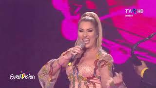 Letiția Moisescu & Sensibil Balkan - D A I N A [Eurovision 2019 Romania Finala]