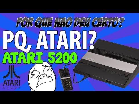 POR QUE NÃO DEU CERTO? Atari 5200