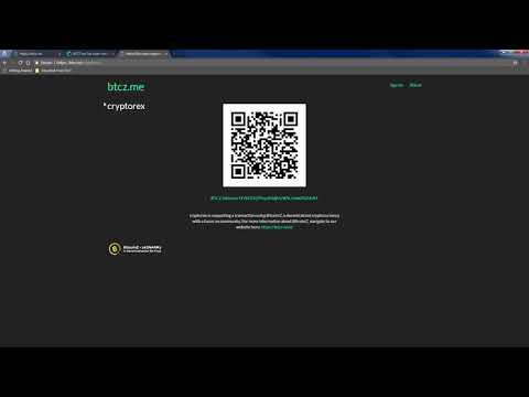 Bitcoin adresas pavyzdys