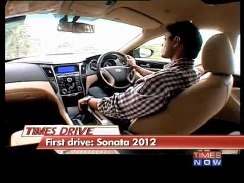 First Drive: Sonata 2012