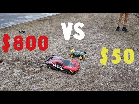 $50 RC Car Vs $800 RC Car