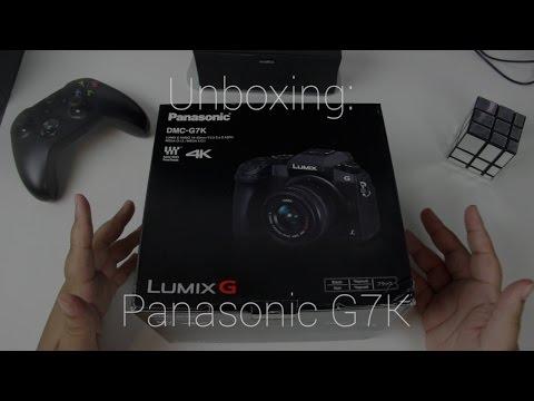 Unboxing: Panasonic DMC-G7K!