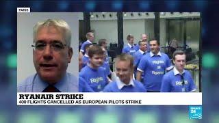 Ryanair strike: