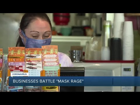 Mask outrage continues as businesses continue to enforce safety policy