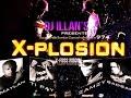 DEEJAY ILLAN'S te presente X-PLOSION la combinaison d artistes 974 a couper le souffle