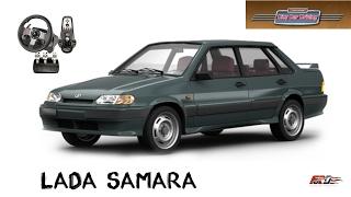 ВАЗ 2115 Lada Samara тест-драйв, обзор дешевого российского автомобиля в City Car Driving