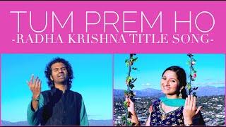 (Radha Krishna Title Song | Lyrics) - Aks & Lakshmi - YouTube