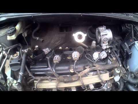 Замена катушек зажигания Nissan Lafesta