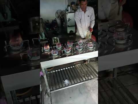 Bếp gas inox tự chế công nghiệp . Lh:0778542223 Mr Thành