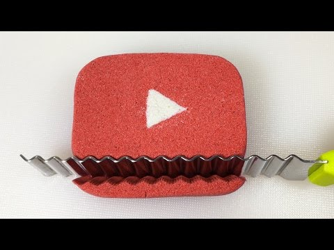 Very Satisfying Kinetic Sand Cutting Videos Compilation #16   Sand Tagious