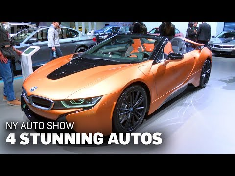 4 Stunning Cars At The New York Auto Show