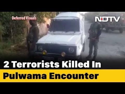 सीआरपीएफ जवान भारत के लिए मर जाता है, 2 आतंकवादी मुठभेड़ जम्मू एंड कश्मीर और में मारे # 39; पुलवामा