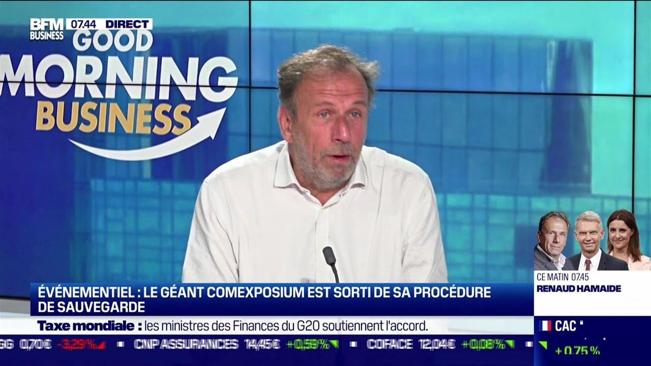 Renaud Hamaide (Comexposium) : Le géant Comexposium sort de sa procédure de sauvegarde