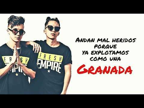 Vice Menta - Granada (Letra) 4k!