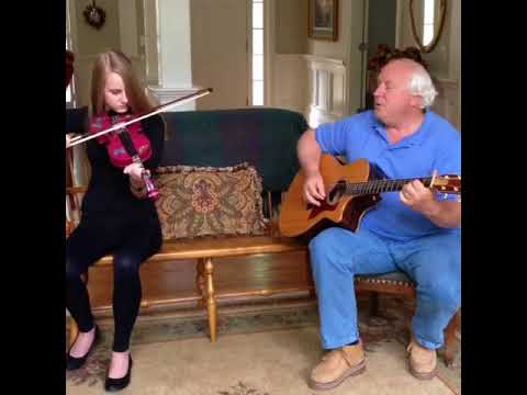This is my violin student McKenna Hudgins & her Dad Chris Hudgins playing Farmers Daughter! She has been my student for 1 year.