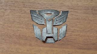 Делаем логотип из ТРАНСФОРМЕРОВ. АВТОБОТЫ