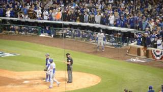 Last Out & Go Cubs Go