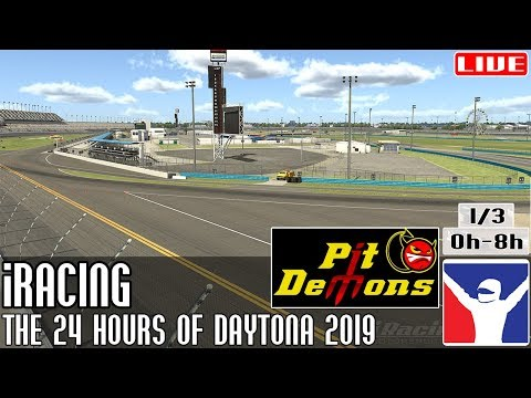 The @iRacing 24 Hours Of Daytona 2019 || Parte 1/3 (0h - 8h) @PitDemons || LIVE Mp3