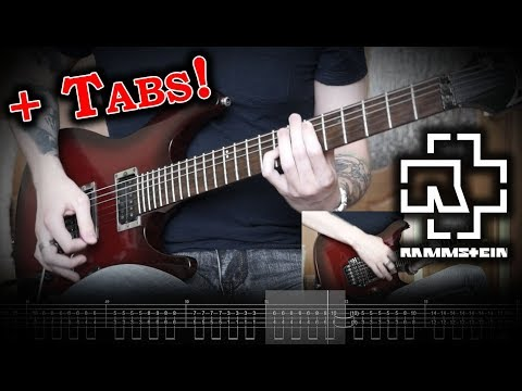 Rammstein - Hallomann (Guitar Cover w/Tabs)