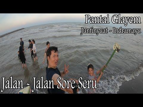 JJS Minggu ke Pantai Glayem Baro Juntinyuat Tirtamaya Indramayu