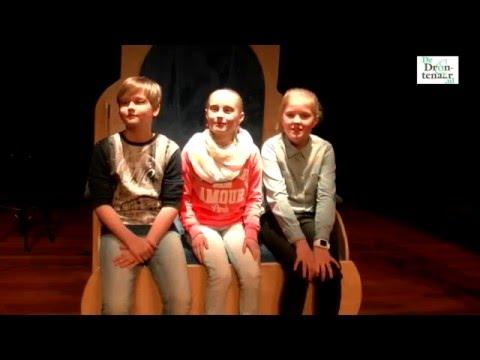 Tess Pouderoyen wint voorleeswedstrijd Dronten | video