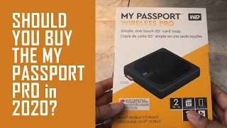WD My Passport Wireless Pro Unboxing & Set Up Guide 2021
