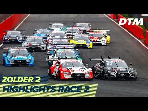 DTM ゾルダー・サーキット(ベルギー) 2020 RACE2 ハイライト動画
