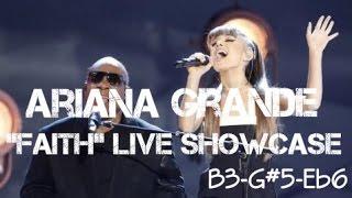 """Ariana Grande slays The Voice performance of """"Faith"""" with Stevie Wonder! (B3-G#5-Eb6)"""