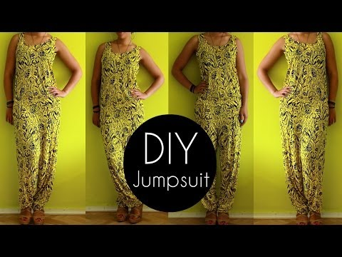 Easy DIY Jumpsuit Tutorial in 30min | DIY Clothes
