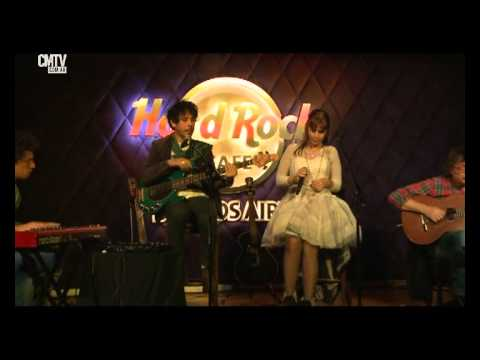 Fabiana Cantilo video Cápsula de escape - Hard Rock Café - Junio 2015