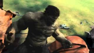 THE INCREDIBLE HULK Music Video ( Evans Blue - Through Your Eyes )