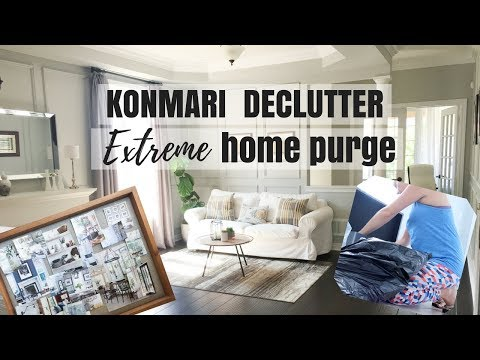KONMARI METHOD EXTREME HOME DECLUTTER | KONDO BEFORE AND AFTER CLEAN HOME | Nesting Story Mp3