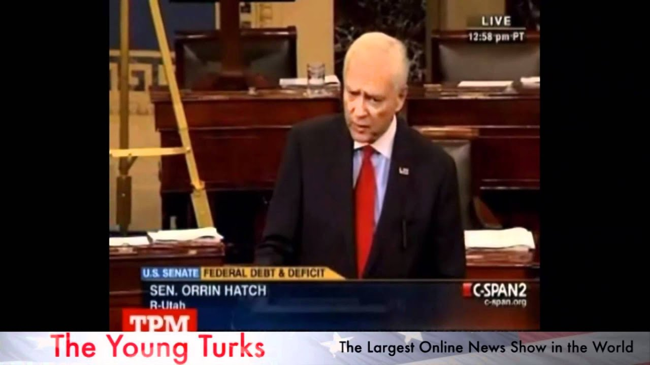 Poor People Don't Pay Enough Taxes - Senator Hatch thumbnail