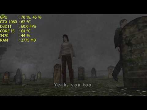 Sillent Hill 2 - PCSX2 1 5 0 - 4K Internal Resolution 60 FPS