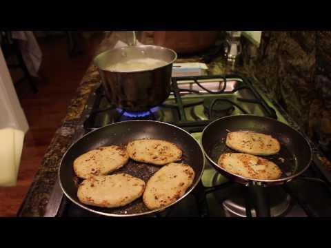 Cooking Vegan Chicken Parmesan