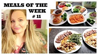 MEALS OF THE WEEK #11 / BUDGET / 5 FAMILY MEAL IDEAS FOR LARGE FAMILY / CHEAP AND EASY