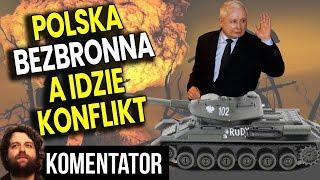 Polska Bezbronna – Lotnictwa Praktycznie NIE MA a Wojsko Ćwiczy Próbny Pobór – Analiza Komentator PL