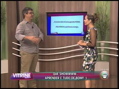 Prof. Dilson e Lu Oliveira - perda x perca