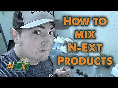 How to Mix N-Ext Products Together // RGS+Air8+GreeNe EfFect+GreenePunch