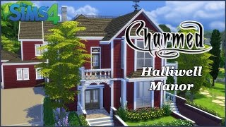 The Sims 4 - Halliwell Manor - Charmed Part 1 (House Build)
