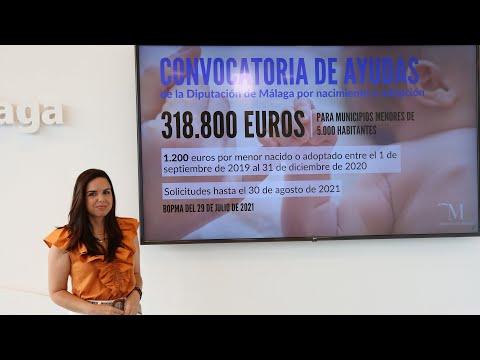 Presentación de la nueva convocatoria de ayudas por nacimiento o adopción en municipios de menos de 5.000 habitantes